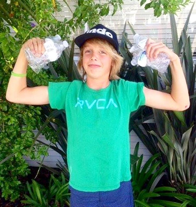 """Meet Orange County's Outstanding Youth for 2016 - Vanis Buckholz! @project.hope.alliance """"Vanis Buckholz, now 13, launched his own recycling business (myrecycler.org) at age 7 in Corona del Mar, and over the past few years has recycled nearly 100,000..."""