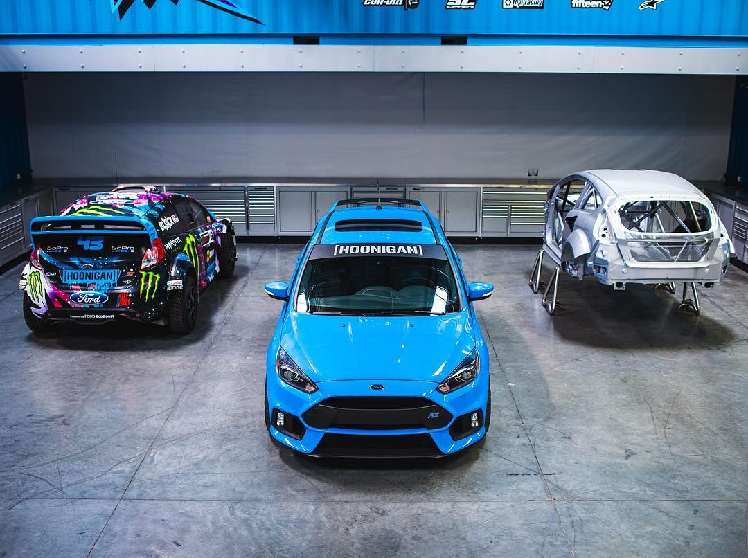 I think this looks like a solid parking spot for my RS at the #HRD_HQ. #FiestaHFHV #FordFocusRS #RX43shell #FordRS