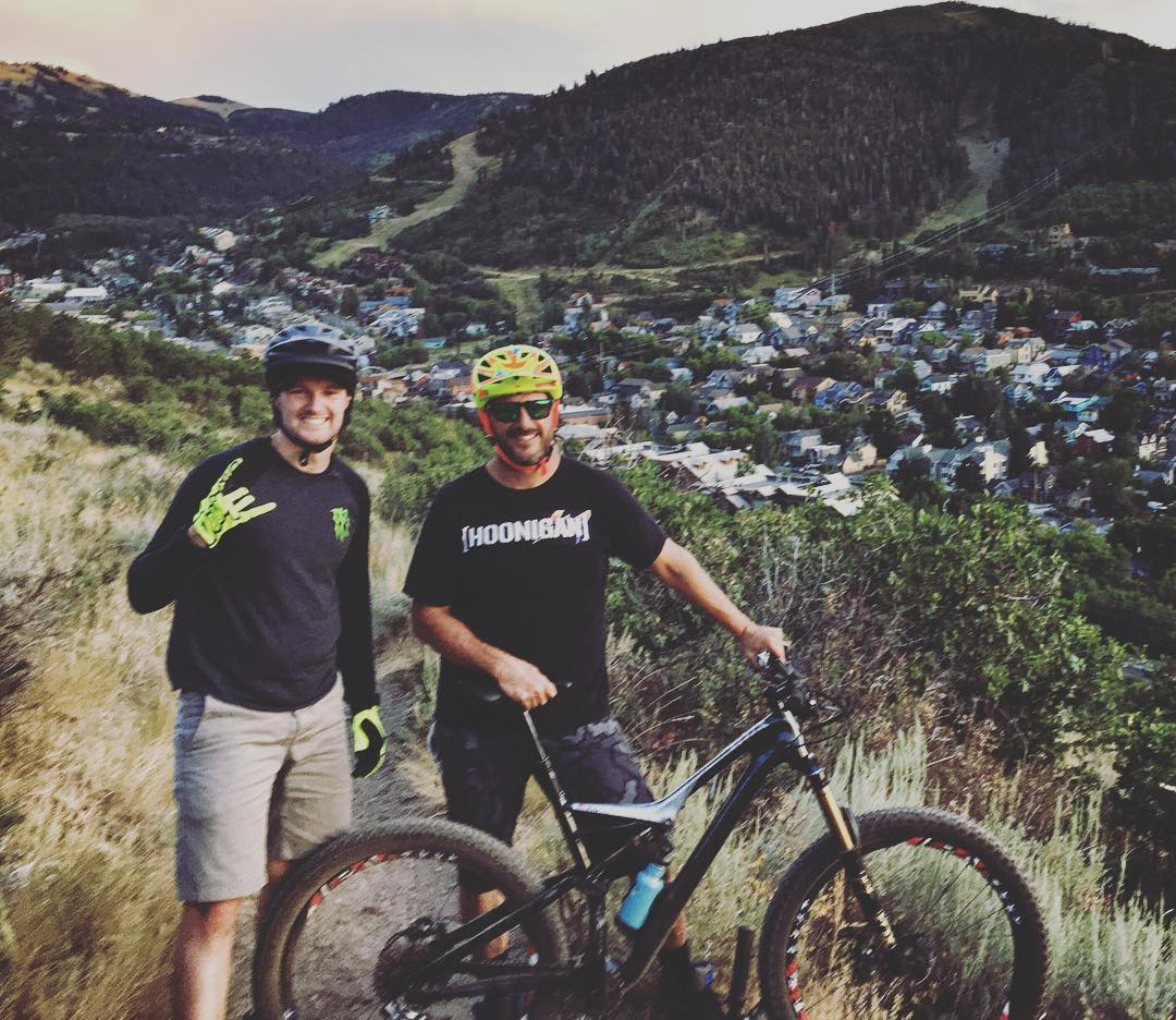 Last week, my teammate @AndreasBakkerud and I got back from Lake Powell and went straight into a training ride on mtn. bikes in Park City. Had to sweat the vacation and adult beverages out of us! Ha. #vacationcleanse #notreadmillsinsight #ParkCity...