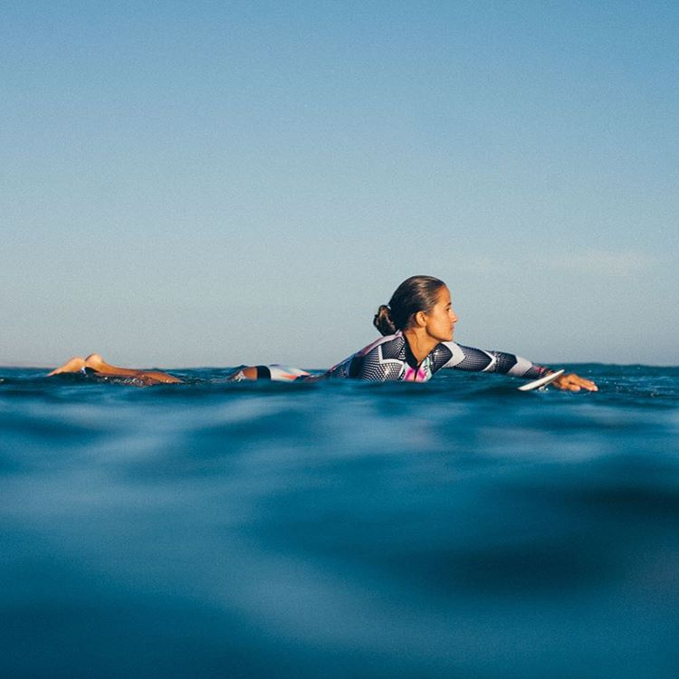 Soaking it up at seal level with @maineikinimaka #POPsurf