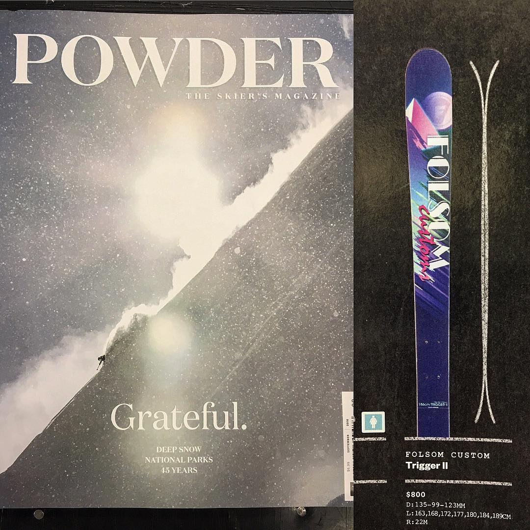 Looks like our Trigger II grabbed another award! The 2017 skier's choice award from @powdermagazine  #madeintheusa #winners