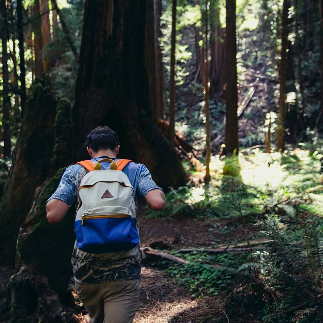Vagando por el bosque. #ForeverFun Conseguí la mochila en tienda.mercadolibre.com.ar/neff  #NeffArgentina #neffheadwear