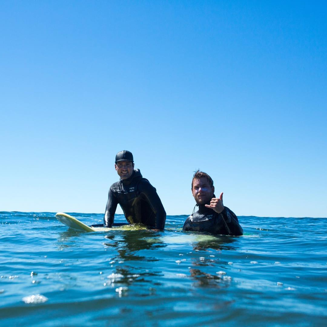 Canadian Prime Minister Justin Trudeau (@Justinpjtrudeau) spent the last two weeks surfing with Billabong team rider @sepp_bruhwiler in Tofino, Canada. Here they are enjoying the warmth and comfort of their #Billabongwetsuits. #surfallday