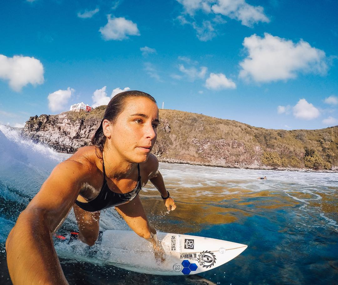Who is your #WCW?  We're keeping the #GoPro10M stoke alive and it's time to rock with one of our favorites - #GoProGirl + pro surfer @johannedefay! We want you to tag your #WCW, and you could win a GoPro Swag Bag: a #HERO4Black, 3-Way Mount, SD Card,...