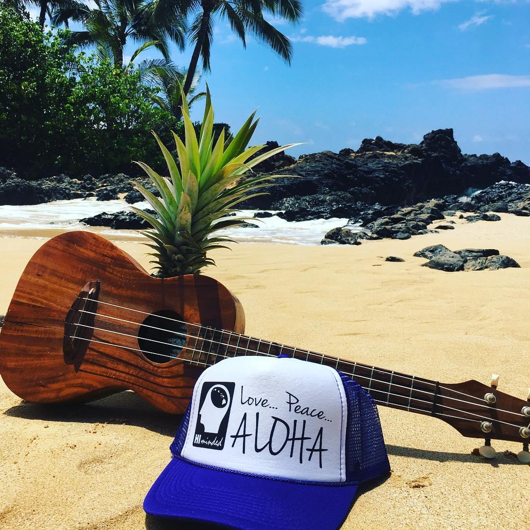 Love Peace & Aloha... #himinded #hawaii #maui #kauai #bigisland #surfing #surfer #truckerhat #beach #beachlife #aloha #808 #surf #surfcompany #bikini #beautiful