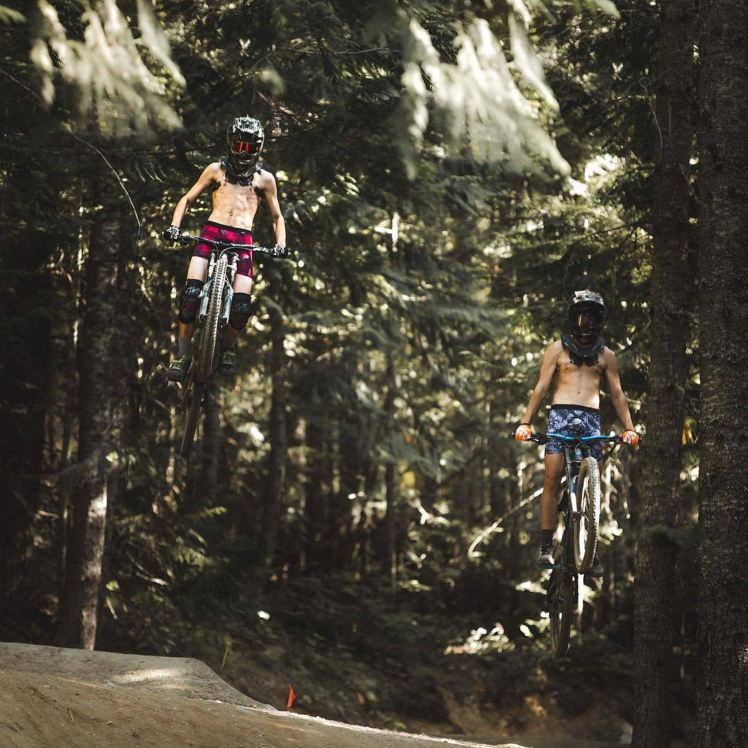 @burkejurjaks & @devon_fabio hanging loose in this week's #PermissionToPlay contest. Congrats on both winning 5 pairs of MyPakage underwear and being entered for a chance to win a surf trip to Costa Rica. Only 1 week left to win! #MyPakage #whistler
