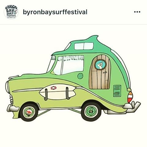 We sure hope this #inspired ride is available on the rental lot when we head over to the @byronbaysurffestival this Feb!