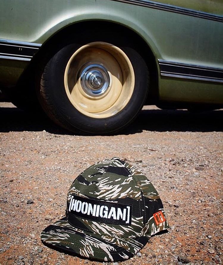 The Tiger Camo C-bar snap back. Hit the link in the bio to check em out. #hooniganDOTcom