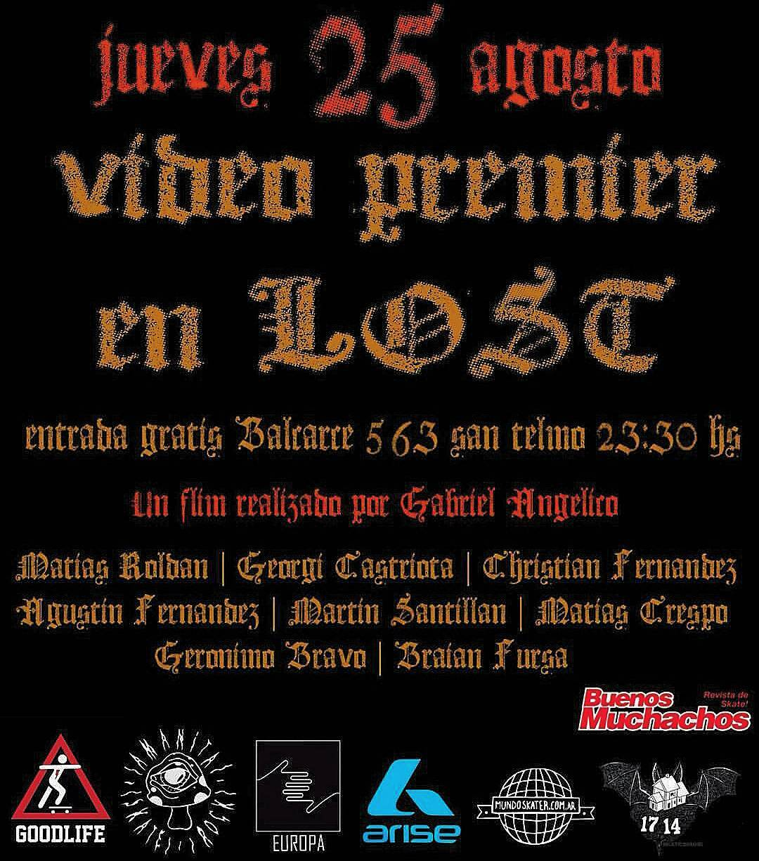 HOY #religionskatevideo #losthiphopcultureclub #AriseTrucks @religionsbvideo @kabefernandez