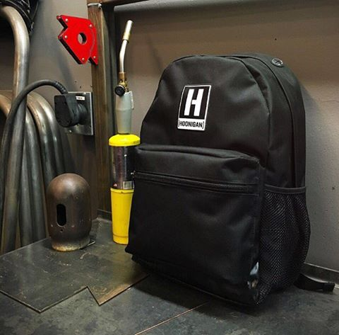 The new redesigned Standard Issue Backpack. Available now on #hooniganDOTcom