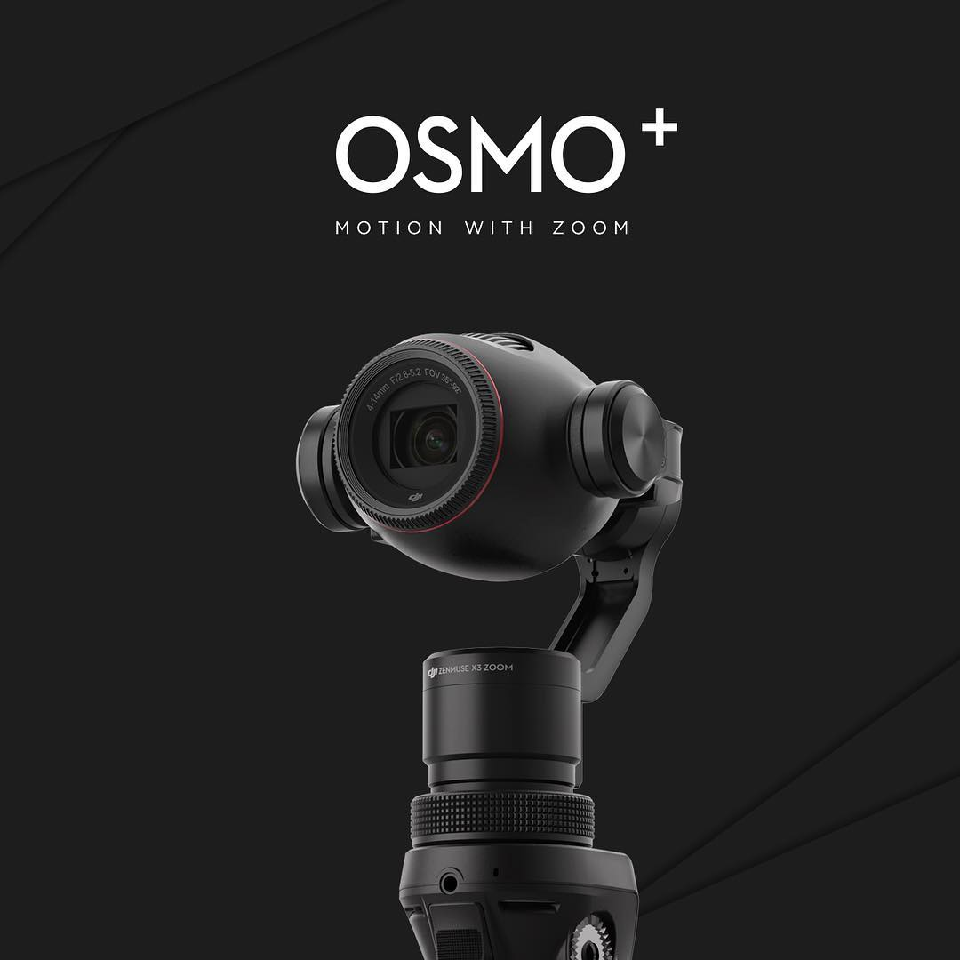 Motion with Zoom | Introducing the Osmo+, #DJI's first handheld camera gimbal with a 7x zoom. Click the link in our bio to learn more! #OSMOPlus