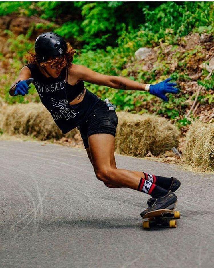 LGC US rider @jamie_skatemom slayin during @centralmassskatefestival. This girl rips so hard ⚡️