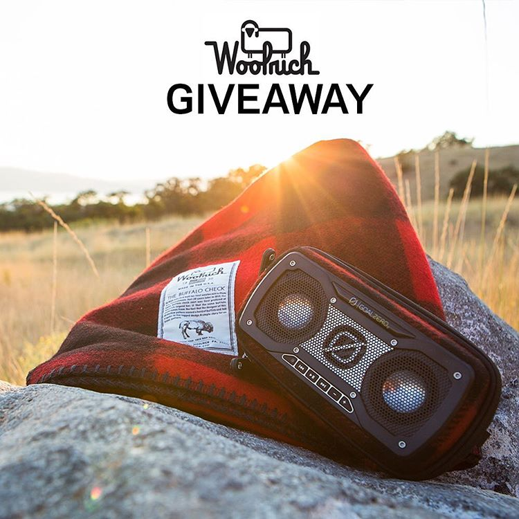 We've collaborated with @woolrichinc to create a new Limited Edition Rock Out 2 Wireless Speaker that's wrapped in their iconic Buffalo Check fabric that was originally introduced in 1850. To celebrate we're giving away a Woolrich Rough Rider Blanket...