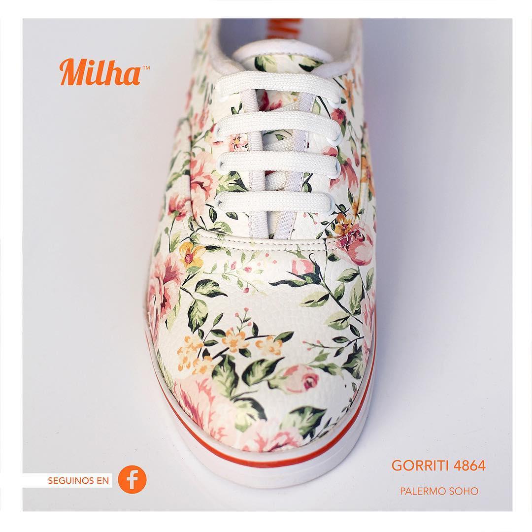 Seguimos en FACEBOOK y entérate de todas las tendencias de la marca! #zapatillas #milhasoho #milha #facebook #palermo