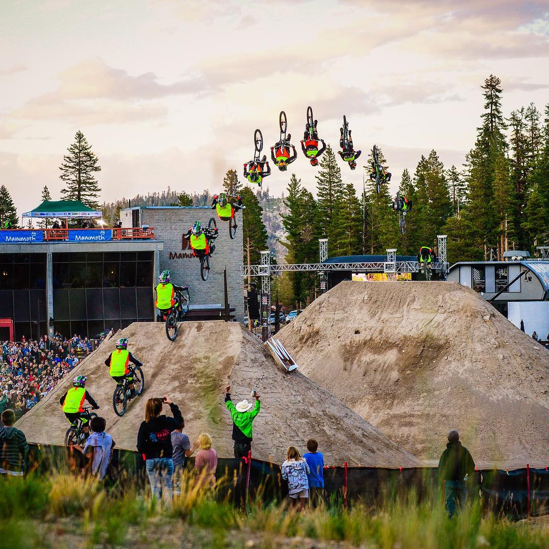 #TBT – Two years ago, @CamZink set the longest dirt-to-dirt bicycle backflip world record at 100 feet, 3 inches live on @ESPN!