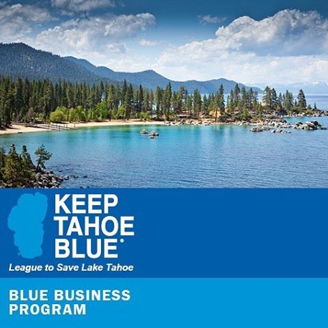 We are excited to launch the Keep Tahoe Blue Business Program, which kicks off with nine outstanding local businesses as its founding members, each taking actions to Keep Tahoe Blue. http://keeptahoeblue.org/blue-business (Photo by @tahoespain)