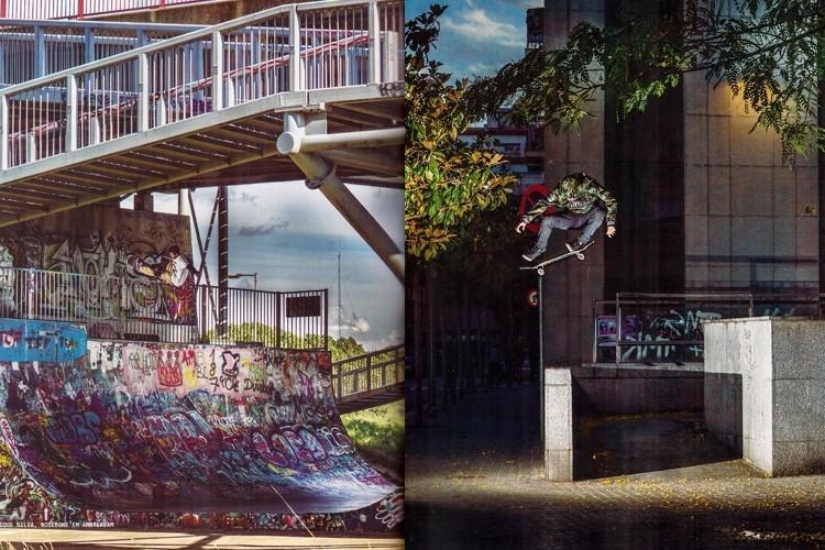 Caique Silva e Samuel Jimmy estamparam algumas páginas da matéria Euro Ondas na ed. 247 da revista Tribo Skate. Confira. QIX.COM.BR #qix #qixskate #skateboardminhavida