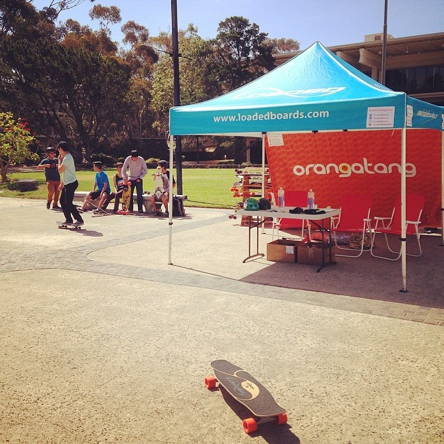 We're out here at #UCSD - stop by Revelle Plaza and skate with us!