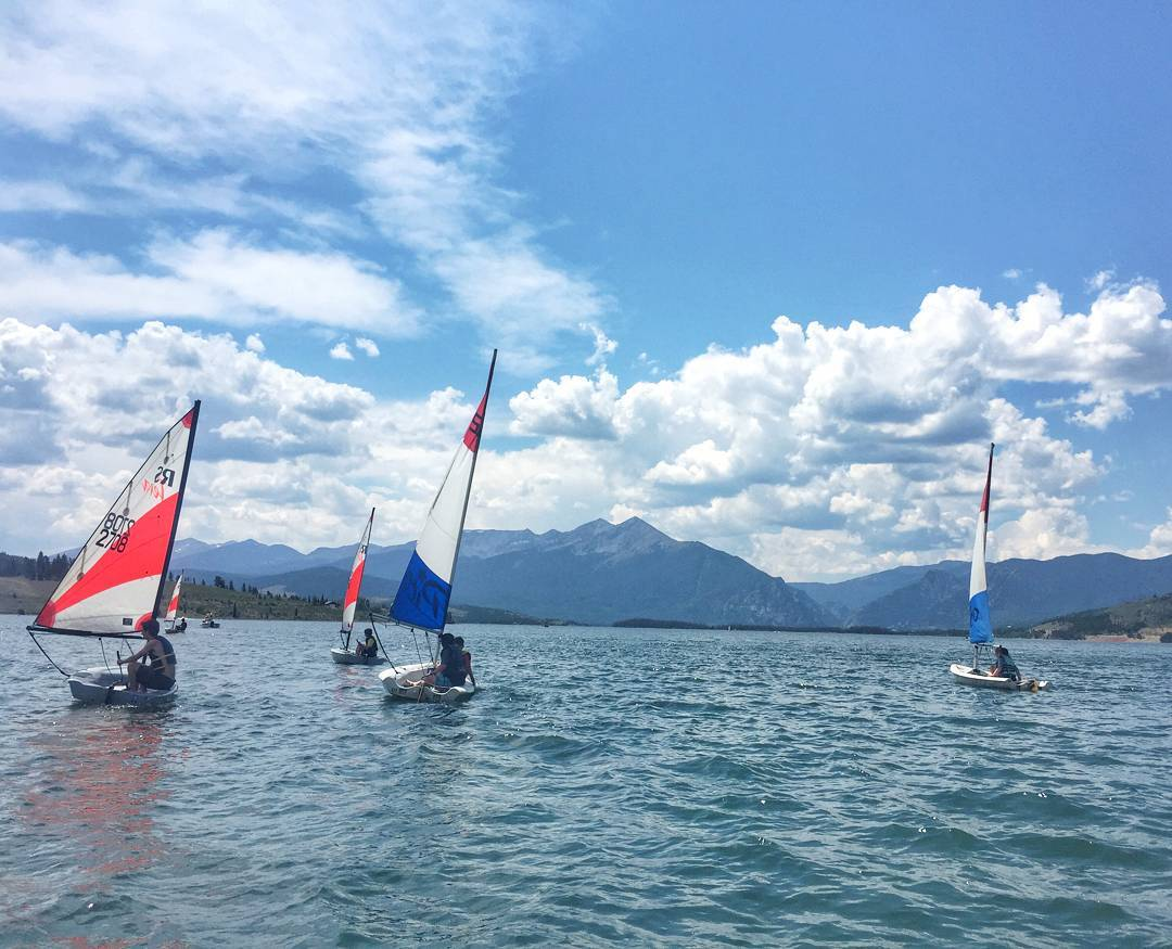 The first year of #sailing #camp with @dillonjrsailing was a blast!