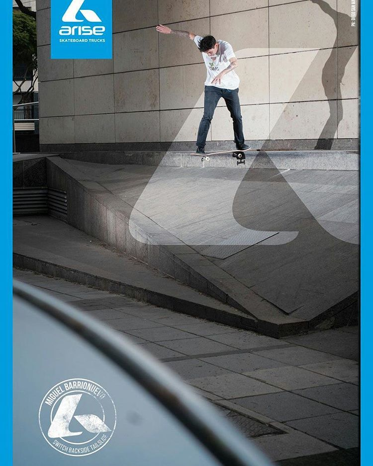 @miguecat #nosehace #AriseTrucks #AriseSkateboarding @revista_buenos_muchachos