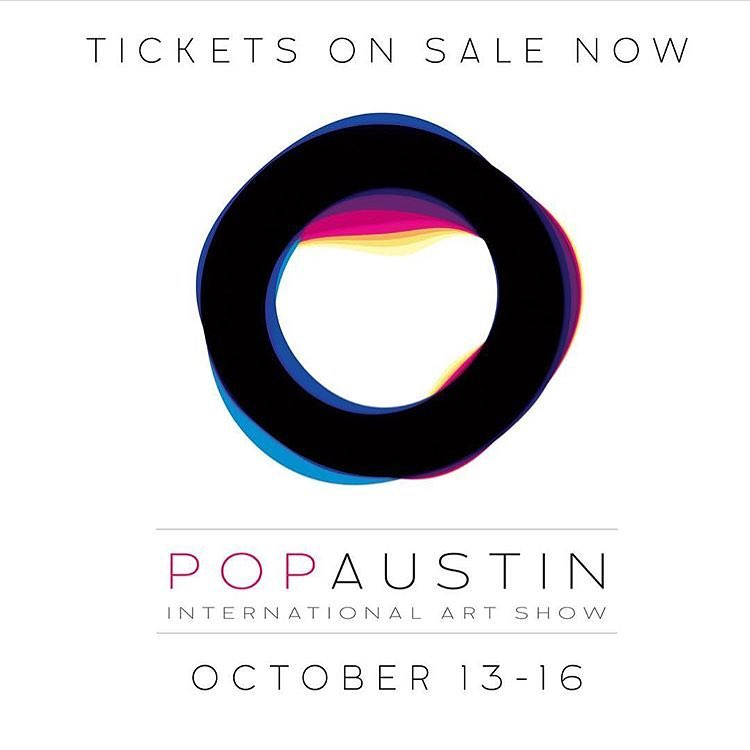 Tickets on sale now for @popaustinartshow link in their bio or visit www.popaustin.com/tickets. • • Join us October 13-16 as we participate in this years International art show. • • #ATX #austintx #Texas #tx #spratx #artshow #international #popaustin #pop