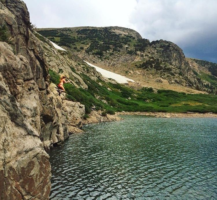 #getouthere… and jump from the highest cliff you can find