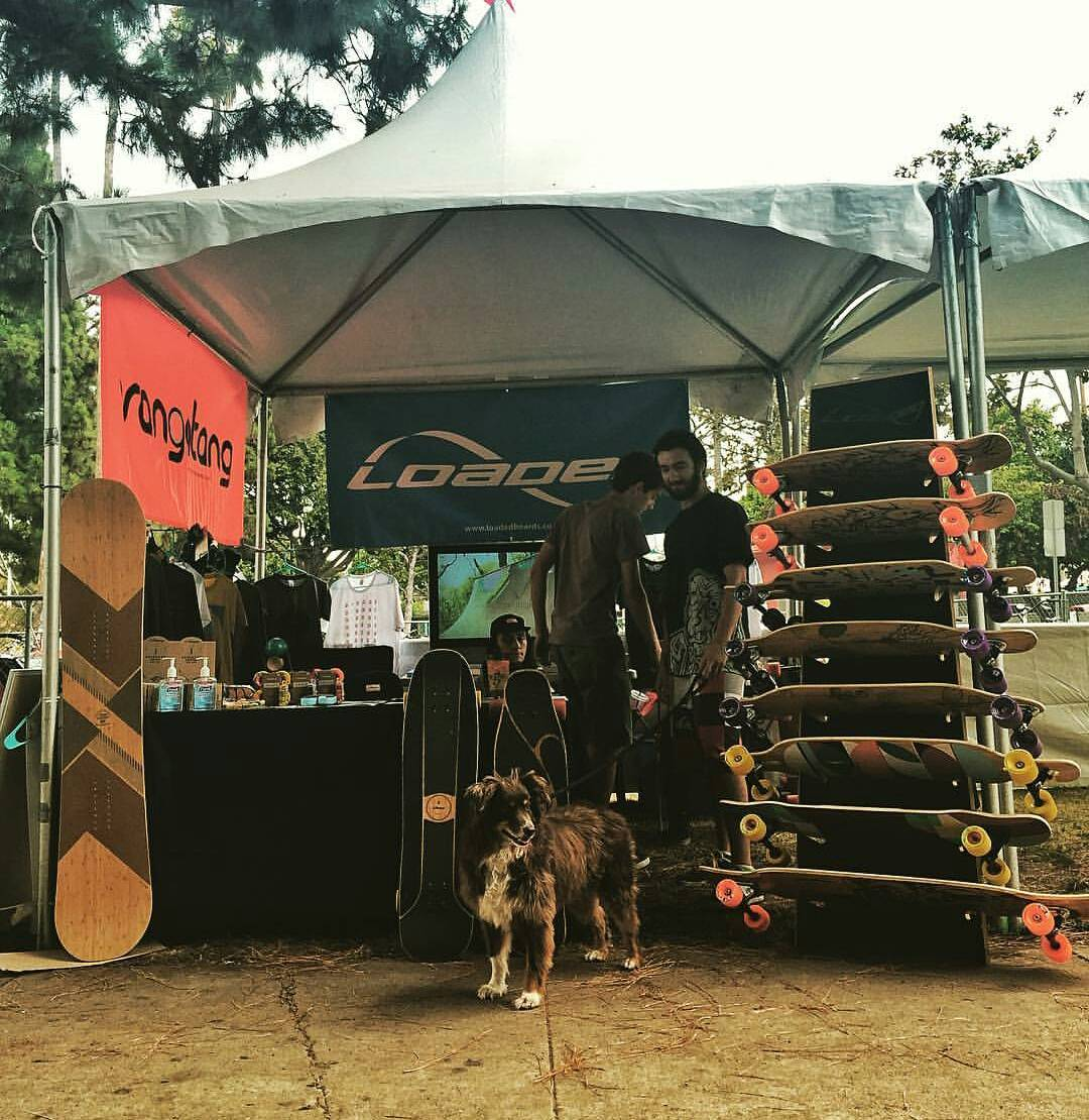 Fiesta La Ballona is going down at the Culver City Recreation Center today and tomorrow!  Come check out our booth by the bike valet, within a nose-shot of the petting zoo!!! #LoadedBoards #FLB2016 #FiestaLaBallona #CulverCity #Orangatang
