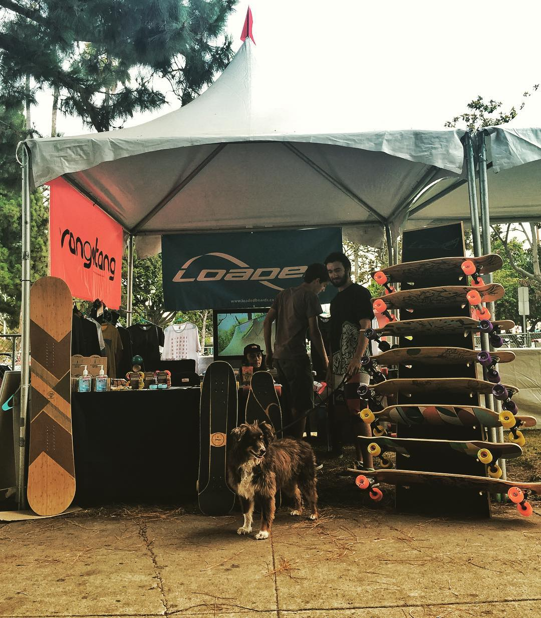 We out here at the Fiesta La Ballona in our local neighborhood of Culver City!  Stop by our booth near the petting zoo and bike valet! #FLB2016 #FiestaLaBallona #CulverCity #Orangatang #LoadedBoards