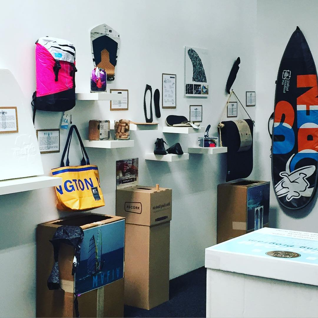 "Don't #waste your time going anywhere else tonight other than to the @surfingheritage Museum  for the opening of their new ""From Plastic - To Fantastic"" exhibit tonight from 6 to 9 pm"