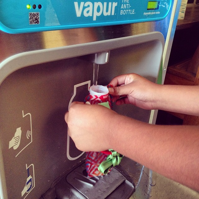 1%FTP member, Vapur, installs hydration stations at 6 schools in Lompoc, CA. #rethinkthedrink #loveblue #lesswaste @cec_sb