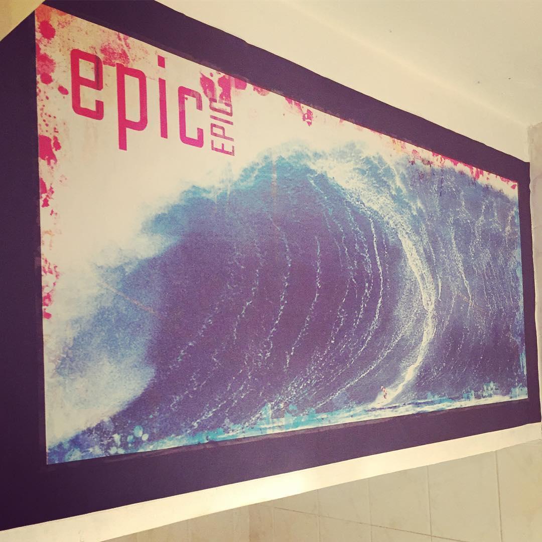#surf #surfing #surfstyle  #surfart #wave #olas #deco #chilimango #empapelados  #diseño #desing  Empapelados con textura de cualquier tamaño, con el diseño que quieras...