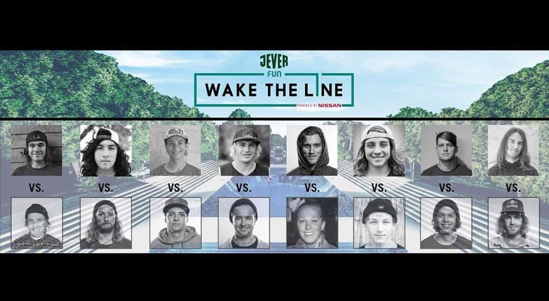 @waketheline is live as we speak! Check the link in our bio. Cheers @domhernler and @julia_rick. #oneloveinwake #takeflight #fortifiedwithlakevibes #ronix2016
