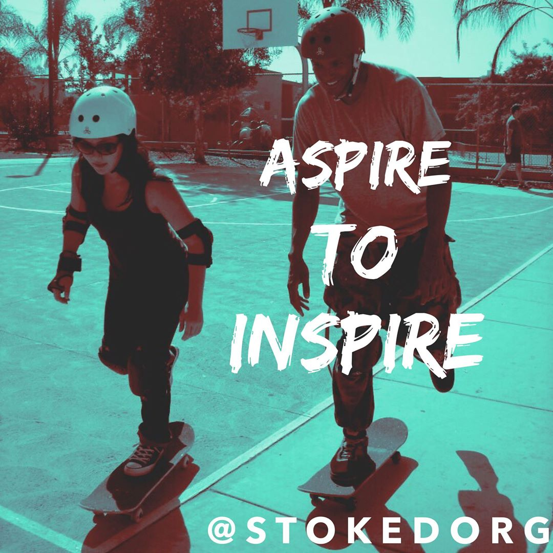 Aspire to inspire.  You can make a real difference.