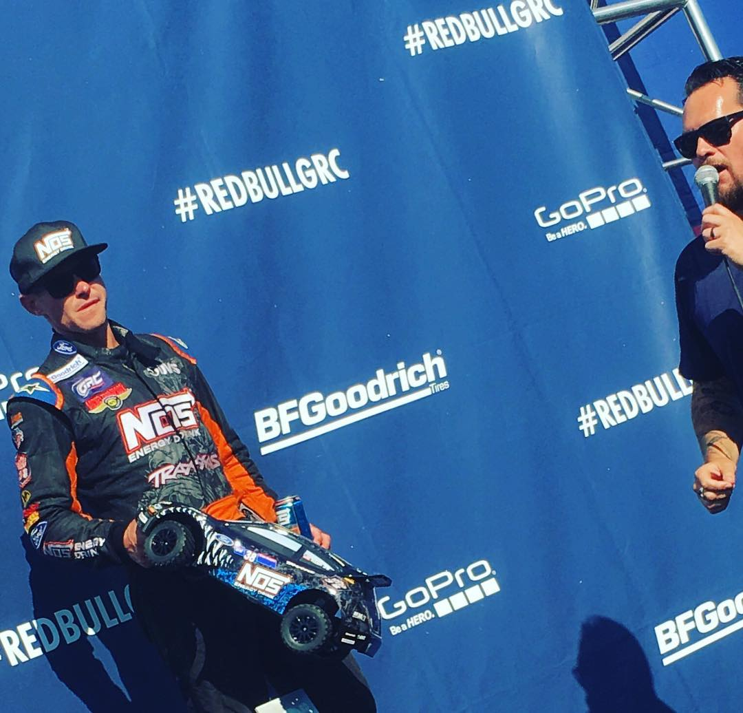 Oh yeah that @traxxas #rc rally car is so sick !  Some podium action from rally race today.  In Atlantic City. Rally RC cars coming soon!!! @nosenergydrink @traxxasracing
