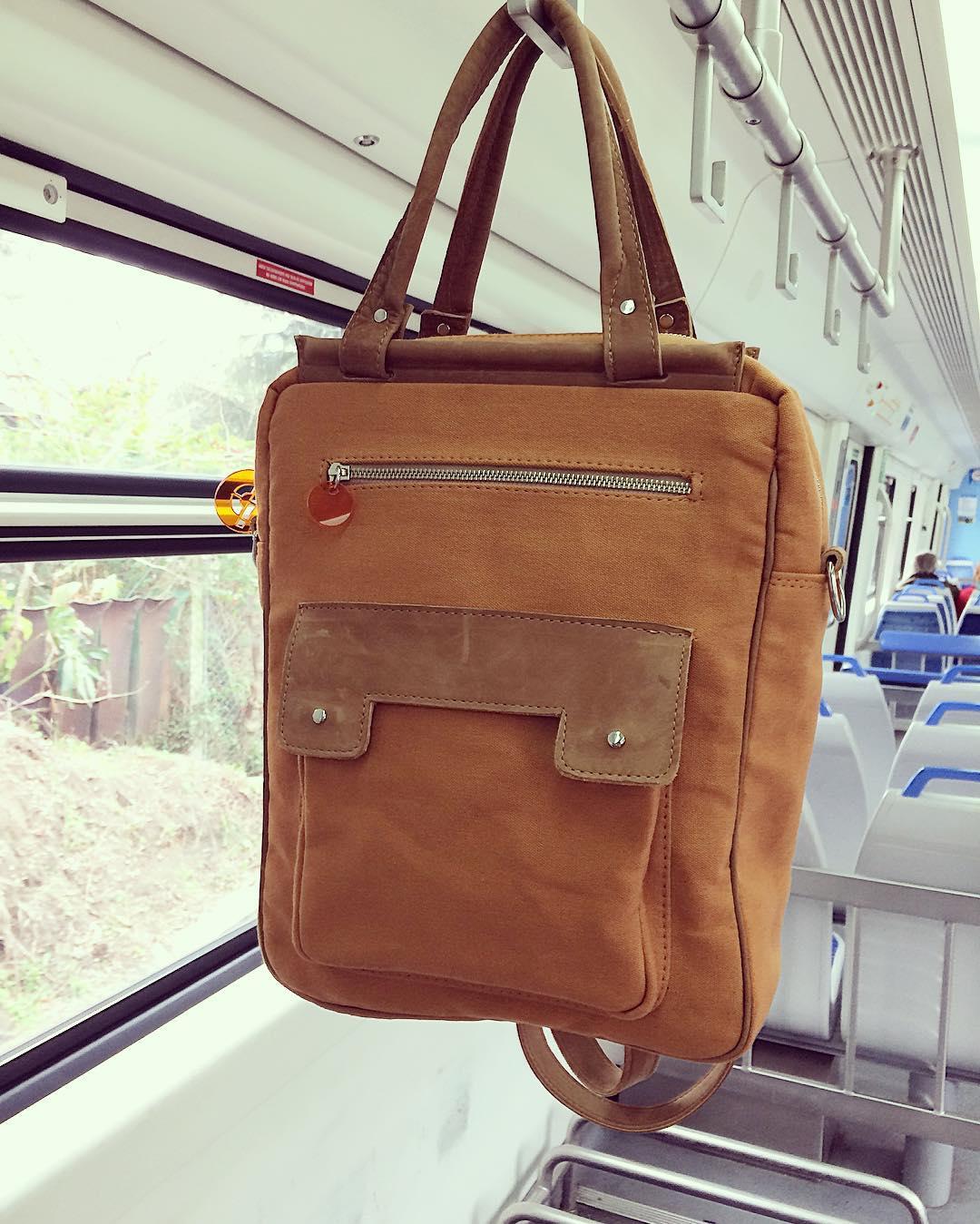"Nueva mochila 14""!! #bagpack #portanotebook #industriaargentina #hechoamano #Pitimini"