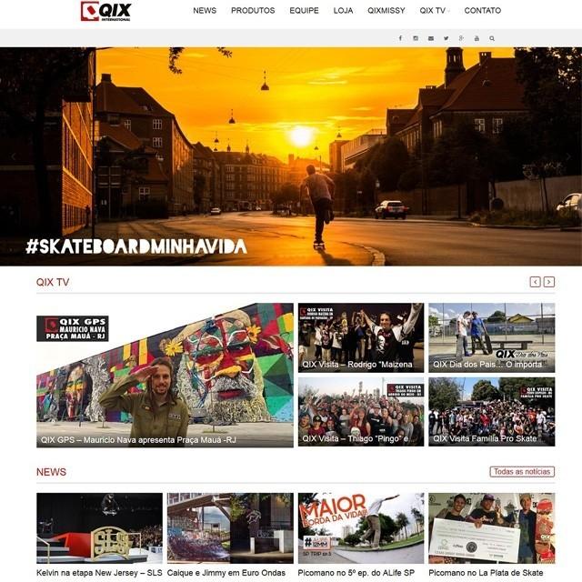 Acesse qix.com.br e fique por dentro de tudo o que acontece no mundo QIX International. QIX.COM.BR #qix #qixskate #skateboardminhavida #skate