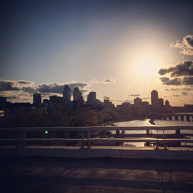 My favorite city in the world. #Minneapolis #Minnesota.  Photo taken by me, @blake_and. ✌️