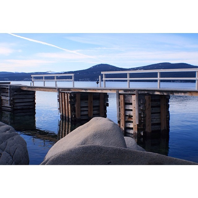 'Spring Loaded ~ 05.09-14' The industrial side of Buck's Beach. #tahoemade #thisistahoe