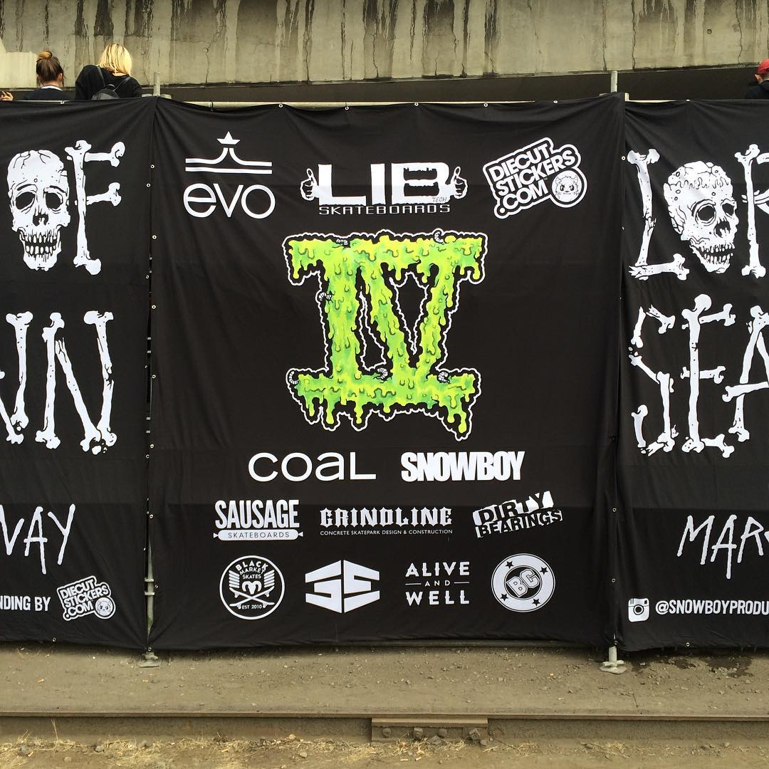 Thanks to @snowboyproductions and @marginalwayskatepark for #lordsofseatown 4. Check our Story for the action.