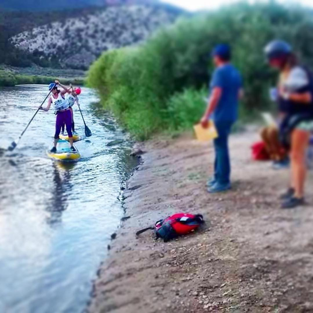 Congrats to team riders @trinwa and @flowathlete on placing 1st and 2nd in the @gorecanyonfest marathon, Pumphouse to Rio Del Rancho on the Colorado River! #halagear #adventuredesigned #paddlewithfriends #isup #inflatable #standuppaddle #paddleboarding...