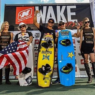 What a weekend for @coryteunissen. Congrats on winning the Worlds in Wakeboarding and the Wake Series Championship! #dragonwake #thewwa #champion