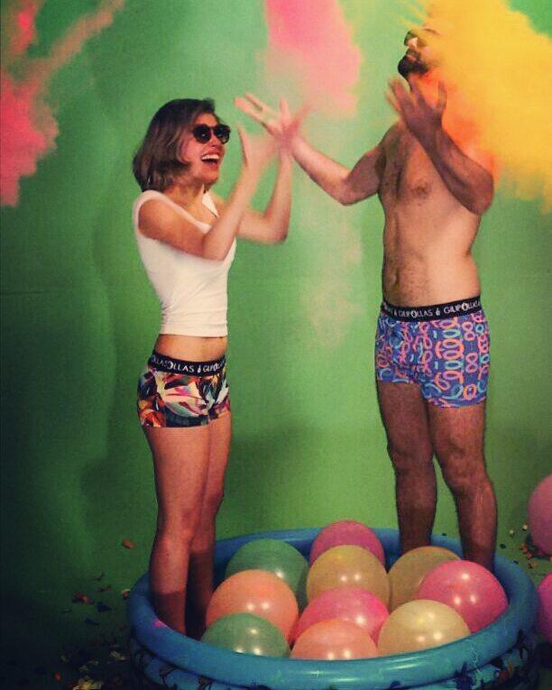 La vida es color Tus Boxer son GILIPOLLAS ® #undies #PrimaveraSound #underwear #collection #nuevacoleccion #coolboxer #holi #colors #happy #felicidad #gilipollas #model #girl #woman #man #freestyle #ropainterior #spring #omg #awesomeness #live...