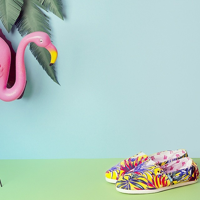 Like a tropical saturday here in Barcelona. Summer is coming!!!! #bcn #tropical #paez #paezshoes