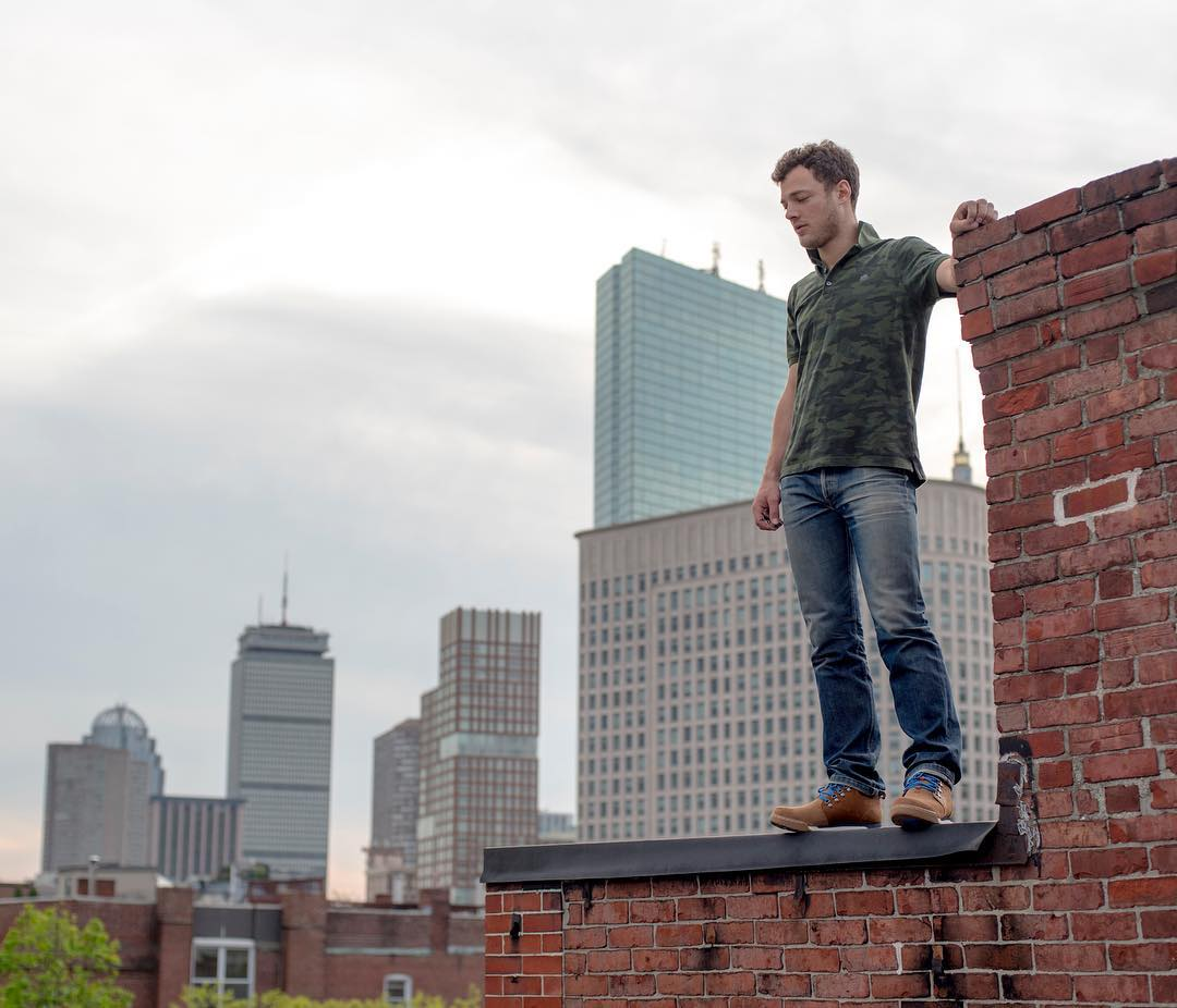 Exploring the rooftops of Boston