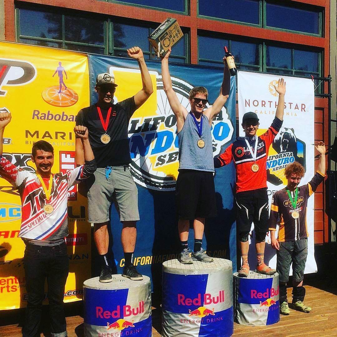 Big ups to @ashton_mtb on his podium finish for the Men's Open at this weekends @ca_enduro @northstar_california