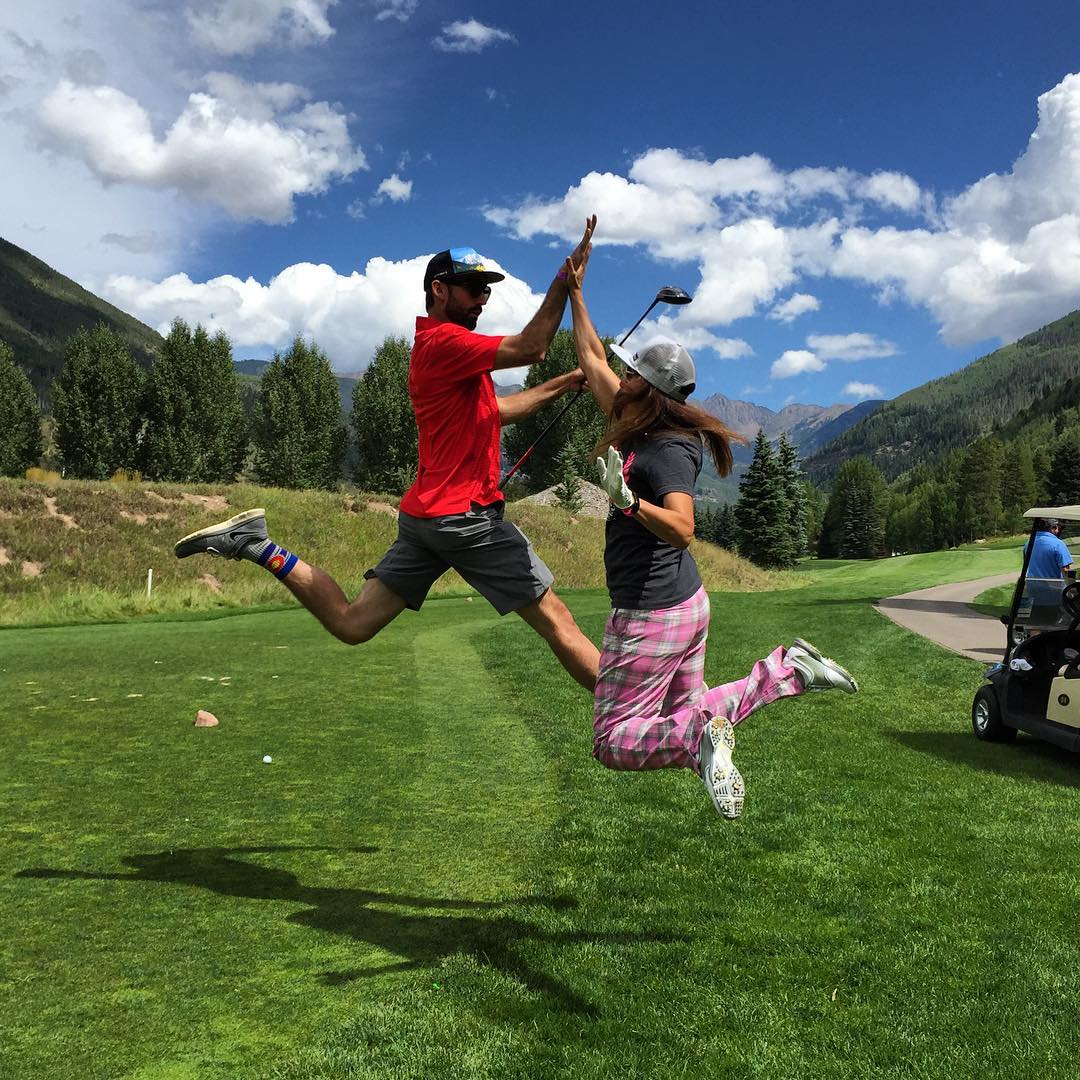 So pumped for the 2nd Annual Colorado Charity Golf Tournament tomorrow, in Copper, supporting @hi5sfoundation !!!!! #kinddesign #hi5sfoundation #cogolf #copper