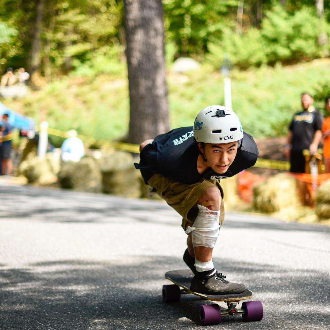 #OrangatangAmbassador @alexgibbison tucking his heart out at @centralmassskatefestival