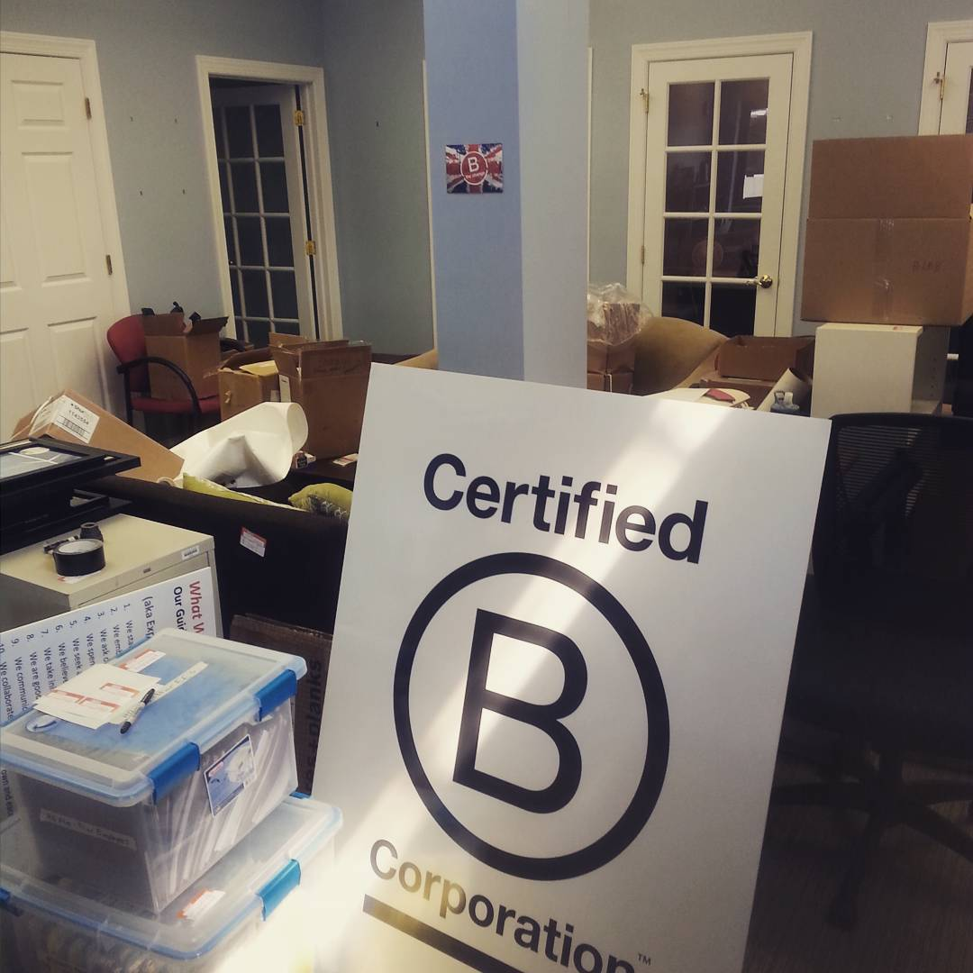 B Lab HQ is on the move! We're staying near Philly, but after 3+ years of growth we've gotten too big for our office. Stay tuned for a tour of our new digs!