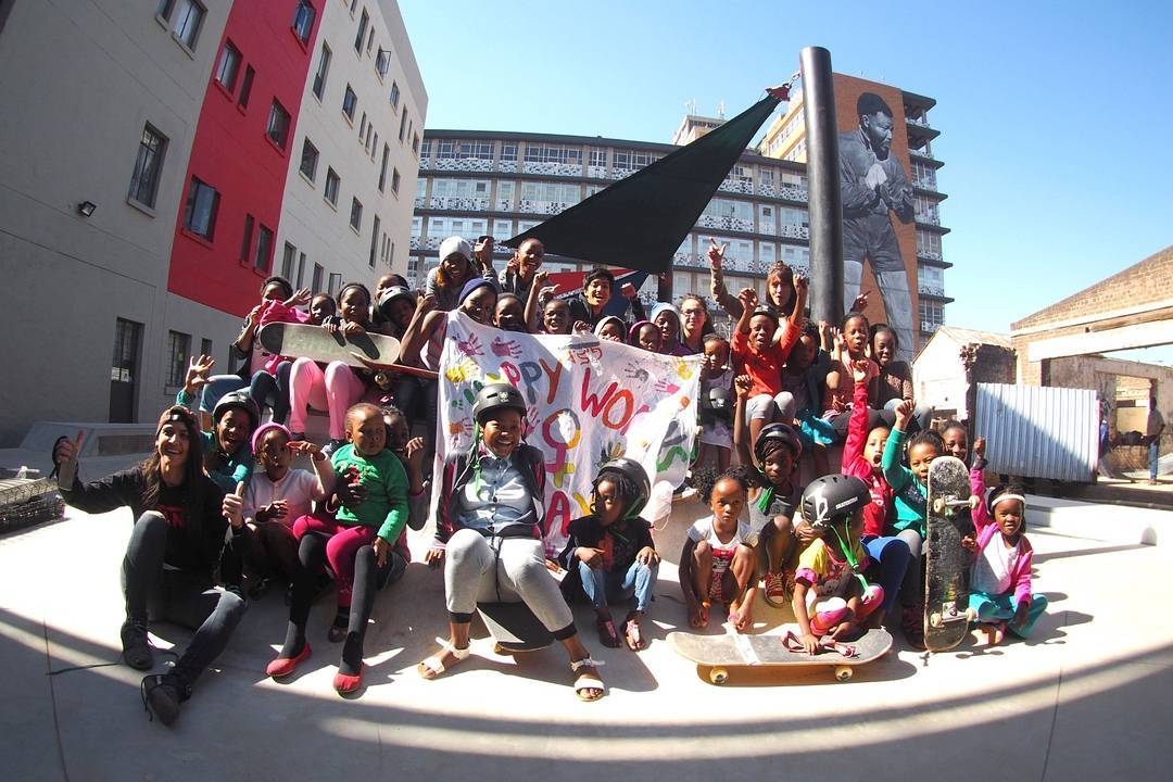 On Aug. 14, 2016 Skateistan launched their newest school in Johannesburg, South Africa. Soon after, a girl's skate session was organized in celebration of Women's Day! About 40 girls between the ages of 5-17 showed up to skate and celebrate gender...