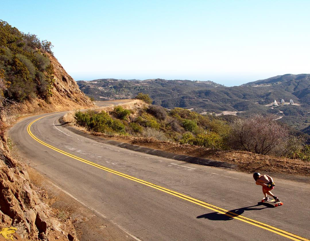 #OrangatangAmbassador @mauritz_arm going fast into canyon roads in his underwear.